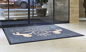 Гумові килимки в офіс