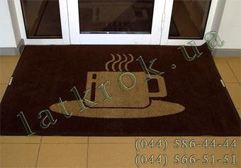 Брудопоглинаючий килимок з логотипом