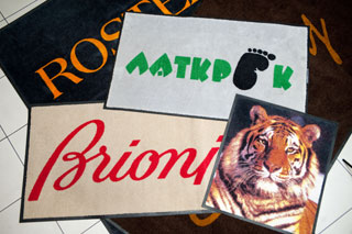 Килими з логотипом